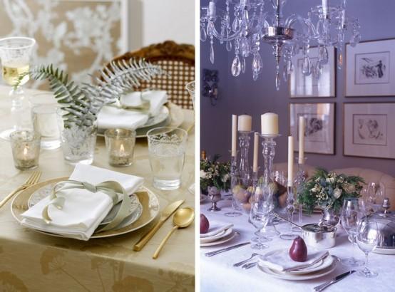 Idee per decorare la tavola di natale natale dintorni - Idee decorative per natale ...